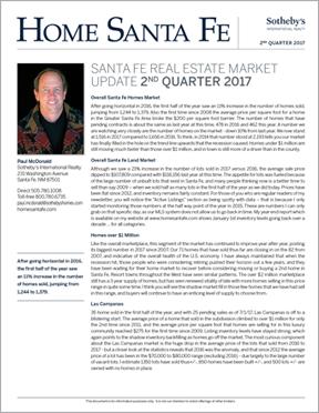 Home Santa Fe Newsletter